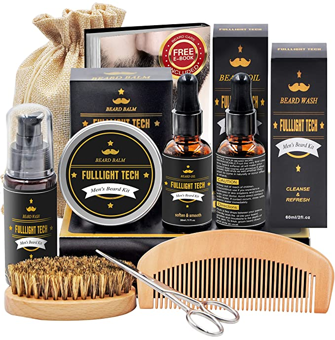 FULLIGHT TECH Beard Kit for Men