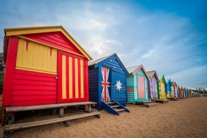 Alt tag not provided for image https://www.airfarewatchdog.com/blog/wp-content/uploads/sites/26/2019/03/Melbourne-Beach-Australia-Huts-Shutter-300x200.jpg
