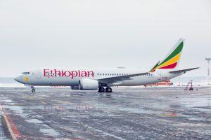 Ethiopian Boeing 737-Max in Stockholm, Sweden