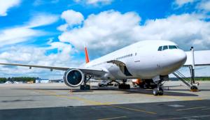 Generic Airplane at boarding gate