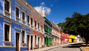 Bogota-Colombia-Colonial-Buildings-Colorful