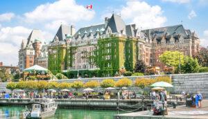 Inner Harbour of Victoria, Vancouver Island, British Columbia, Canada