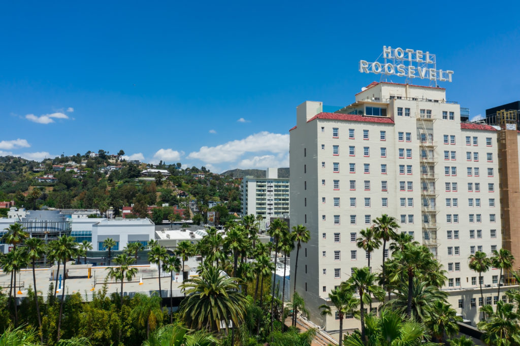 Hotel Roosevelt in Los Angles, California