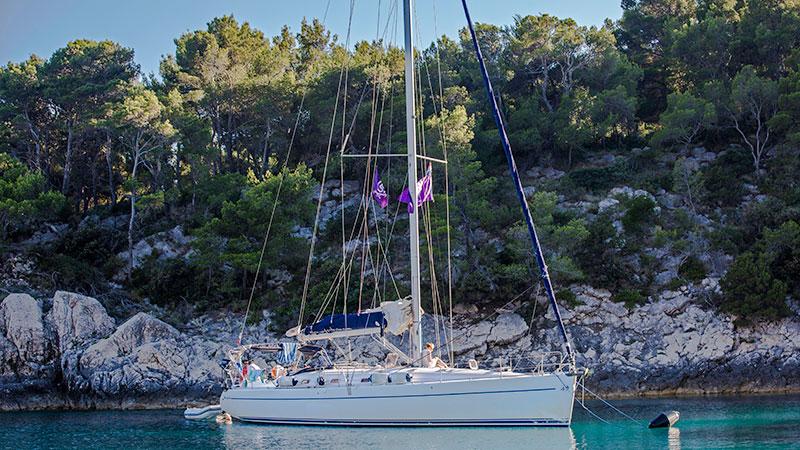 Yacht with G Adventures Sailing Croatia