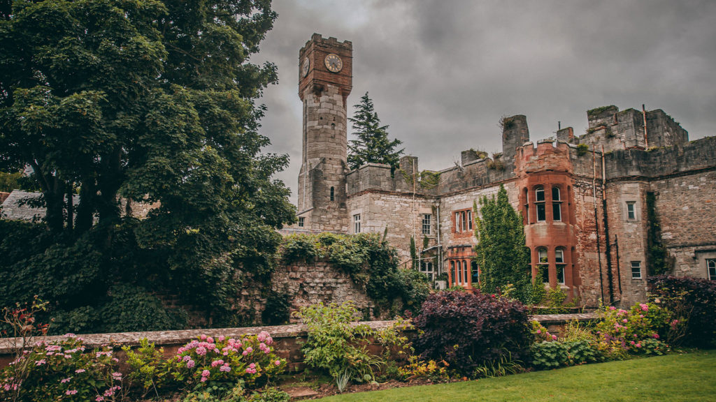 Ruthin Castle Hotel & Spa in Ruthin, Wales UK