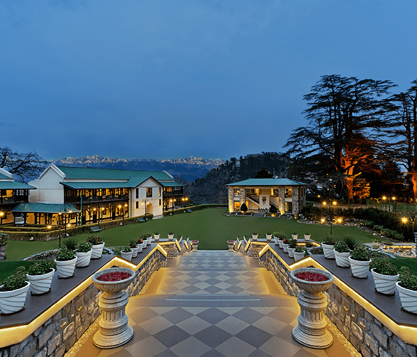 Savoy Hotel (WelcomHotel) in Mussoorie, India