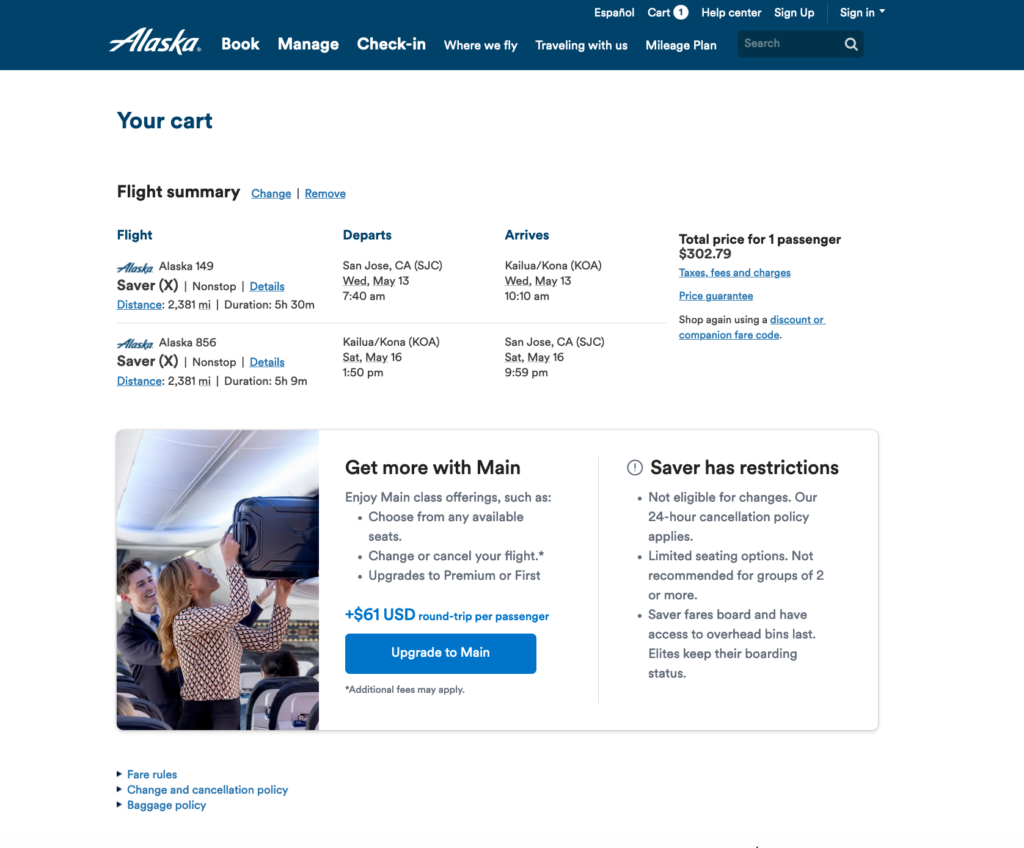 Alaska-Airlines-Saver-Fare-Restrictions
