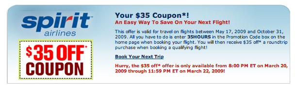 35 coupon code on Spirit Airlines - Blog   Airfarewatchdog afcc382aaf