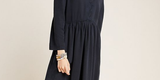 A black sundress for summer vacation