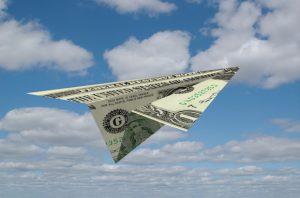 Alt tag not provided for image https://blog.airfarewatchdog.com/uploads/sites/26/2015/04/papermoneyplane21-300x198.jpg