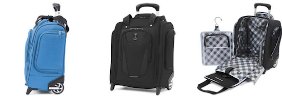 "0ae2c6a0f Travelpro Maxlite 5 15"" Lightweight Carry-On Rolling Under Seat Bag"