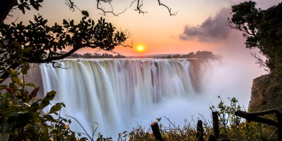 victoria falls in Zimbabwe Harare