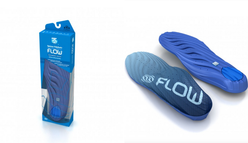 Blue Insoles for Keeping Cool