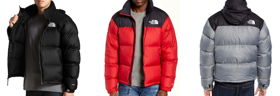 lightweight Northface down jacket for travel