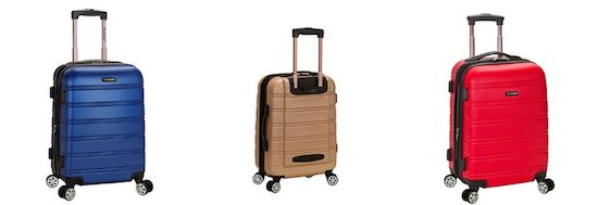 Best Carry On Luggage 2019 Rockland Luggage Melbourne Spinner Carry On Bag