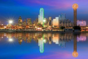 Alt tag not provided for image https://blog.airfarewatchdog.com/uploads/sites/26/2019/03/Dallas-Skyline-Night-Reflection-Texas-Shutter-300x200.jpg
