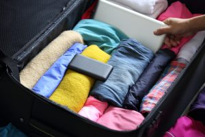 How to organize your suitcase