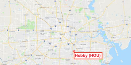 map of hobby airport houston tx Iah Vs Hou Which Houston Area Airport Is Better map of hobby airport houston tx