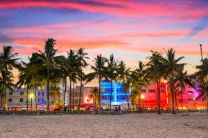 Alt tag not provided for image https://blog.airfarewatchdog.com/uploads/sites/26/2019/04/Miami-Beach-Florida-Sunset-Ocean-Drive-Shutter-300x200.jpg