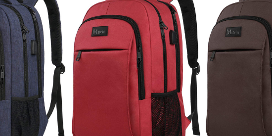 Matein Slim Travel Bag Waterproof Backpack