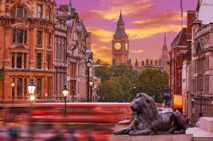 Alt tag not provided for image https://blog.airfarewatchdog.com/uploads/sites/26/2019/06/London-England-Lion-Big-Ben-UK-Sunset-Shutter-300x199.jpg