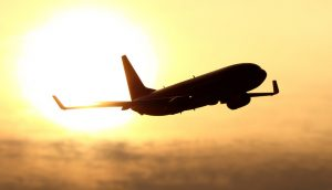 737 Silhouette at Sunset