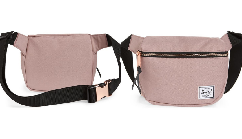 Herschel Supply Co. Fifteen Belt Bag in dusty pink