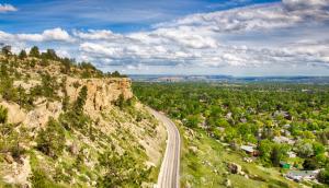 Billings Montana zimmerman trail rocks