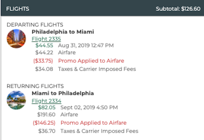 cheap flight from philadelphia to miami for $127 roundtrip on frontier airlines for labor day weekend