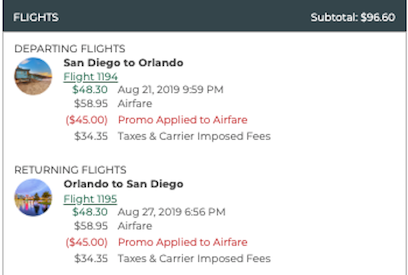 cheap flight from san diego to orlando for $97 roundtrip on frontier