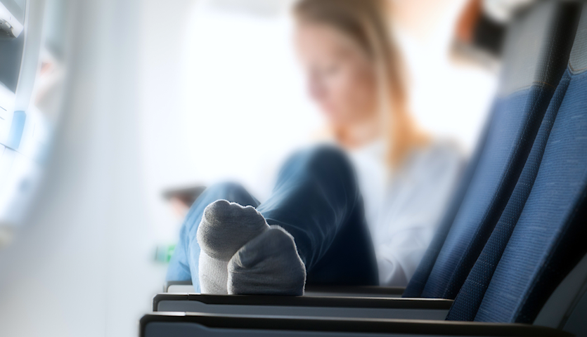 The One Thing You Should Always Do On a Plane? Sanitize Your Seat