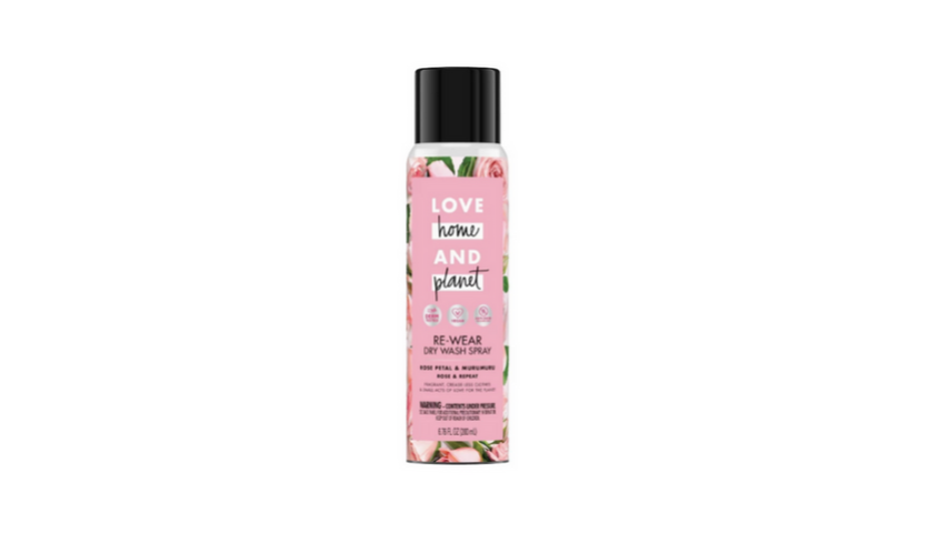 love home and planet dry wash spray