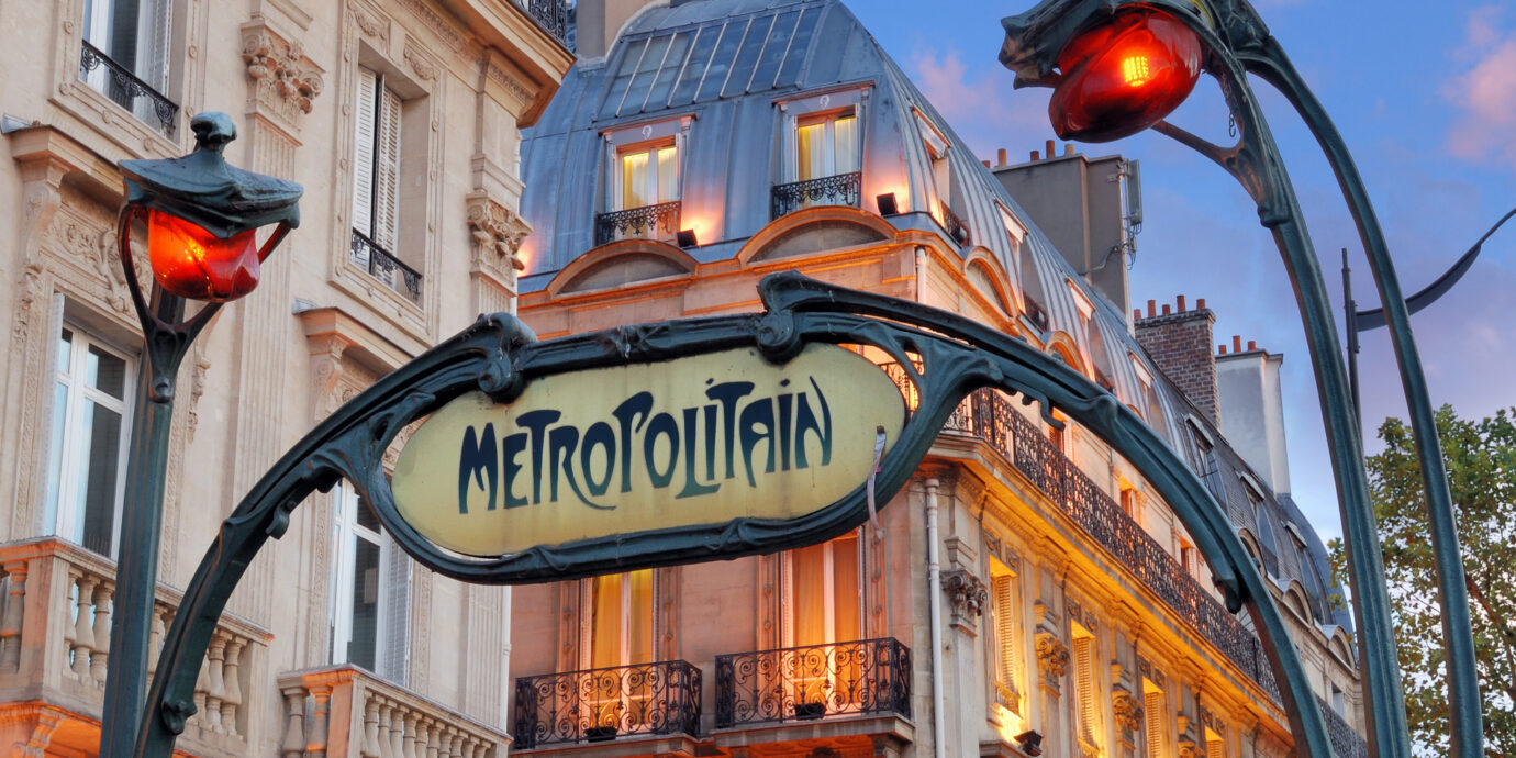 Paris-Metro-Entrance
