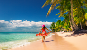 Alt tag not provided for image https://blog.airfarewatchdog.com/uploads/sites/26/2019/10/Punta-Cana-DR-Dominican-Republic-Beach-Woman-Caribbean-300x172.png