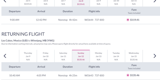 cheap-flight-from-winnipeg-YWG-to-los-cabos-SJD-255-CAD-roundtrip-on-swoop