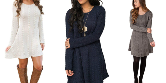 Knitted-Crewneck-Sweater-Dress