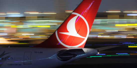 turkish airlines logo livery tail