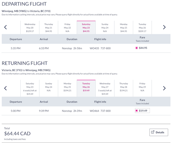 cheap-flight-from-winnipeg-YWG-to-victoria-YYJ-65-cad-roundtrip-swoop