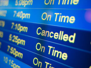 Flight Cancellations for Coronavirus