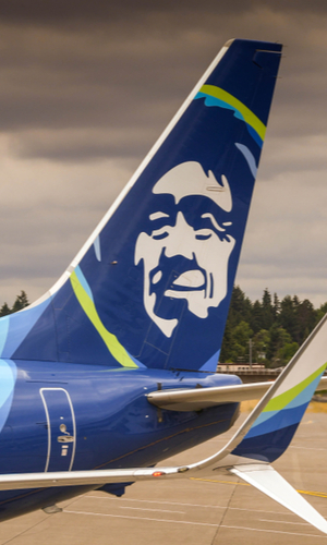 alaska airlines livery tail
