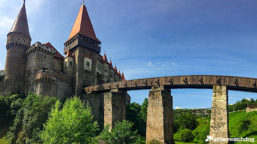 Corvin Castle in Transylvania Romania