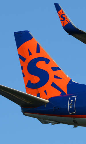 sun country livery tail