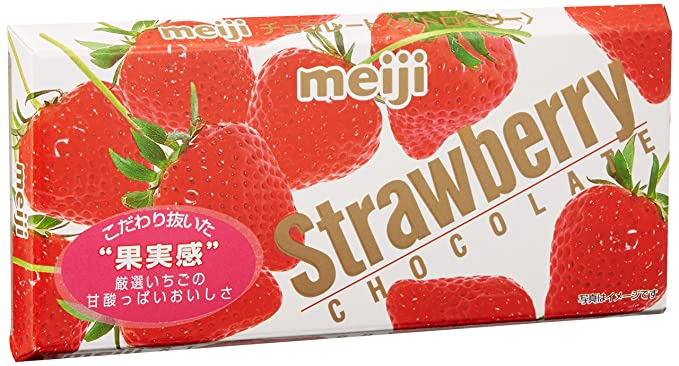 Meiji Strawberry Chocolate
